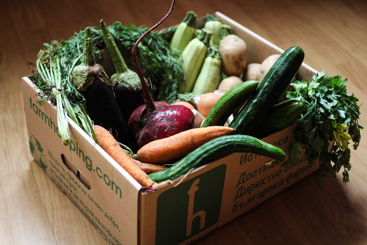 local and organic produce