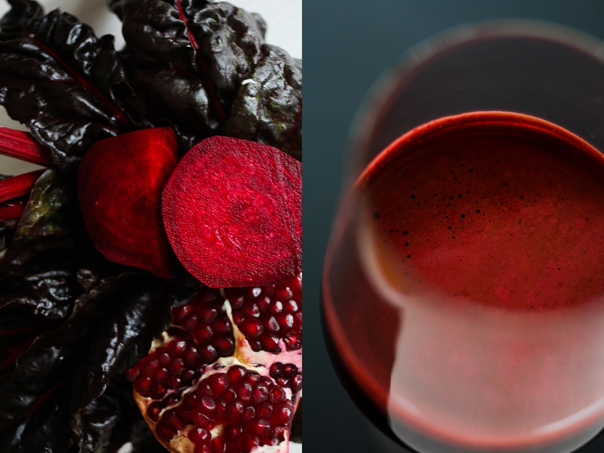 purifying beet juice