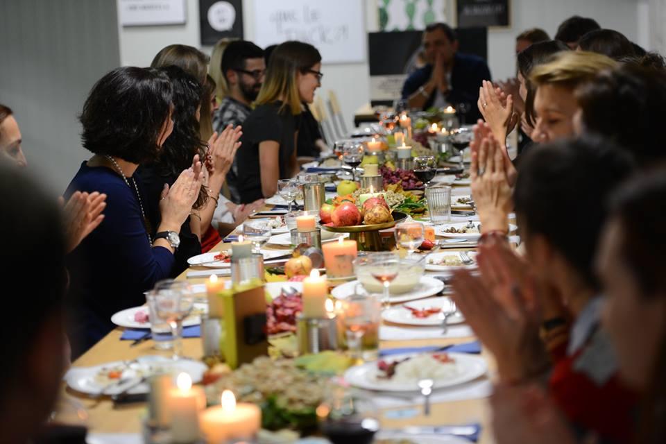 """Концептуална вечеря """"Втора употреба"""" със спасена храна от БХБ"""