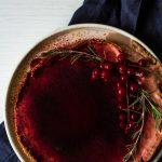 cranberry vanilla tart