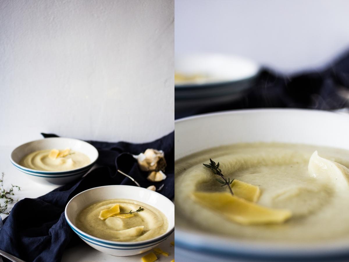 celeriac cream soup