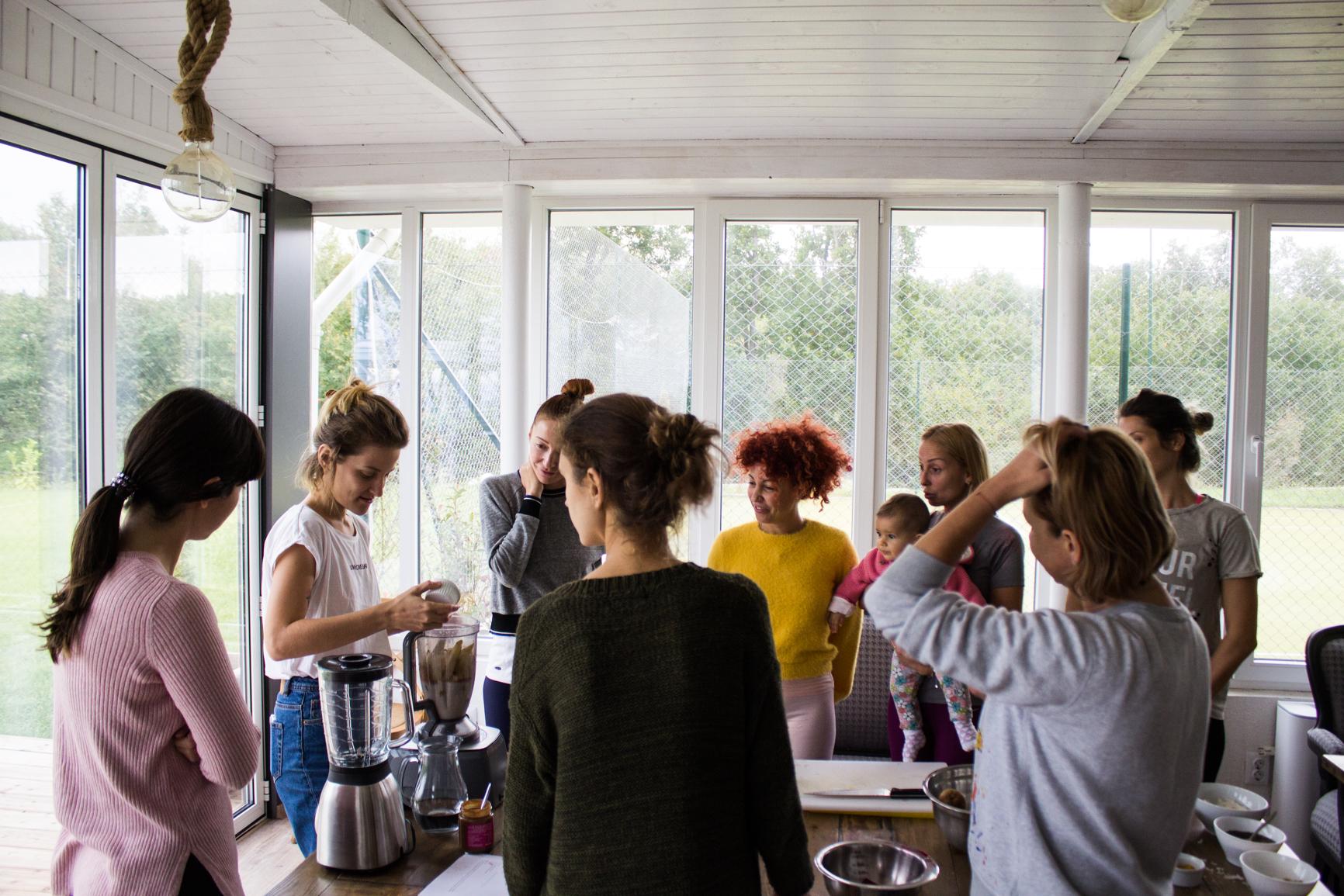 holistic retreat food for change
