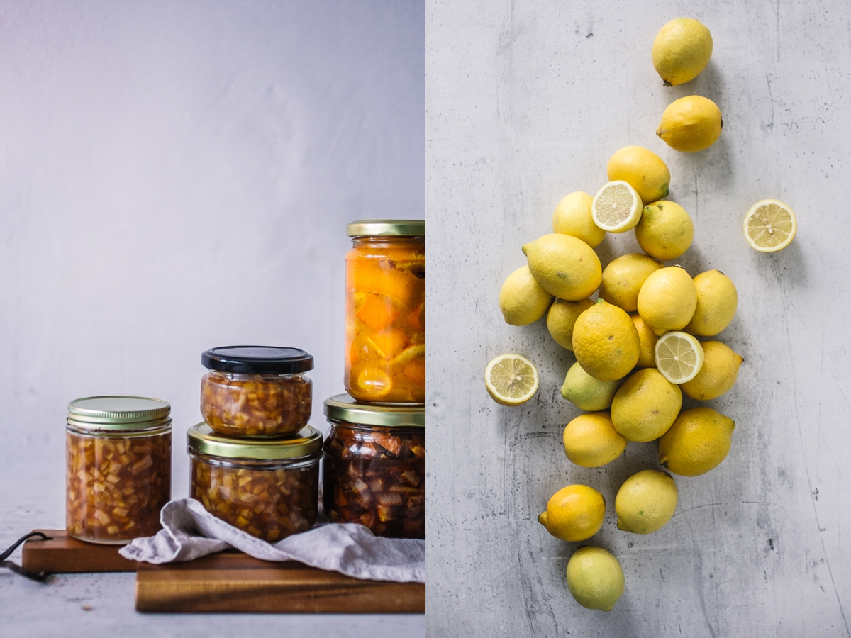 lemon peel jam