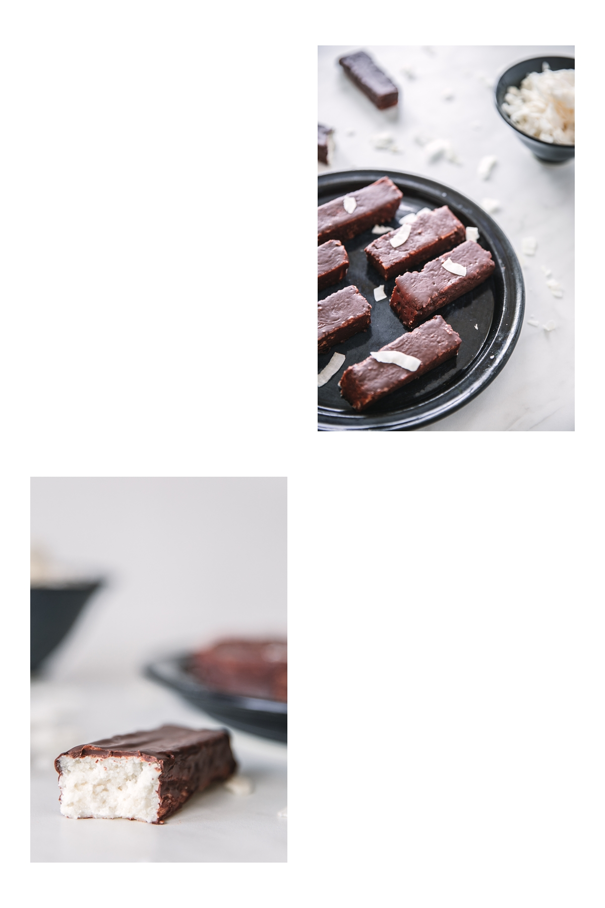 vegan keto coconut bounty bars