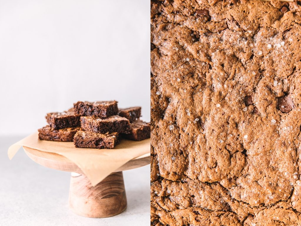 hazelnut blondies [gluten-free and dairy-free]
