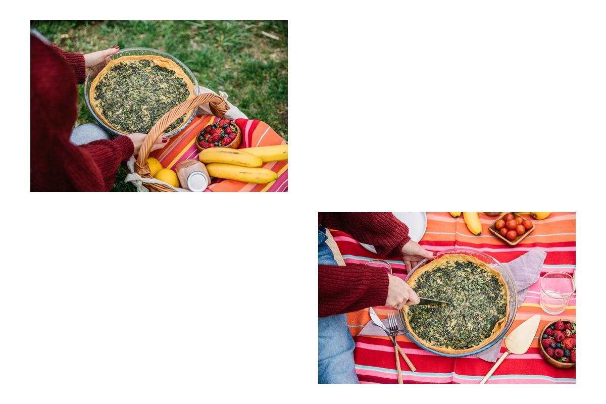 spring green french tart