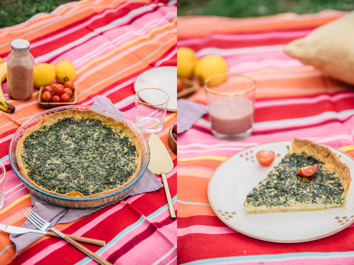 spring green french tart